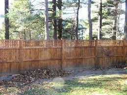 Wood Fence Privacy Screens