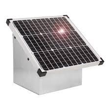 30w Voss Farming Solar Module Box F Electric Fence Energiser 4250590416965 Ebay
