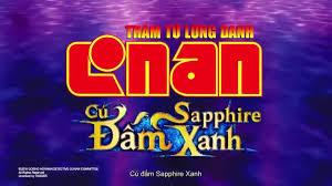 Conan Movie 23: Cú Đấm Sapphire Xanh Chính Thức Về Việt Nam |