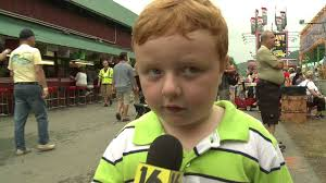 Kid at County Fair Gives Best Interview Ever   FOX40