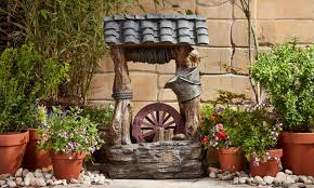 wishing well water feature groupon goods