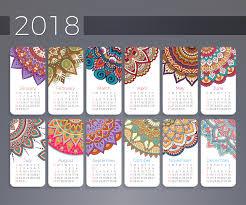wallpaper calendar 2018 year month