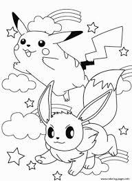 Print Printable Pikachu Sc2eb Coloring Pages Kleurplaten