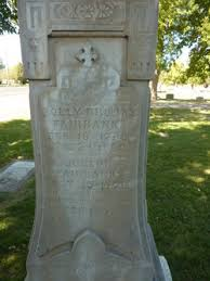 """Mary """"Polly"""" Brooks Fairbanks (1780-1860) - Find A Grave Memorial"""