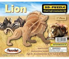 Little Lion - 3D Puzzles - CoTa Global