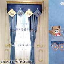 Polyester Animals Sliding Curtains 2 Piece 4 Prong Pinch Pleat Window Drapes For Children Bedroom White And Purple 84 By 95 Inches