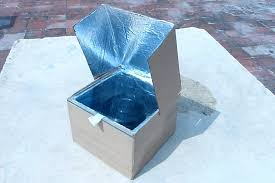 how to make a simple solar cooker to