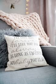 I Ll Love You Forever I Ll Like You For Always As Long As I M Living My Baby You Ll Be This G Pink And Gray Nursery Pink Bedroom Decor Pink Girl Room Decor