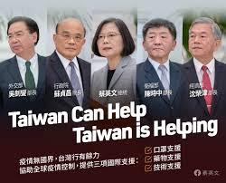 台湾防疫经验输出世界蔡英文宣布捐一千万只口罩给美欧和友邦