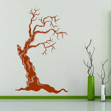 Tree Dead Creepy Horror Withering Vinyl Wall Art Sticker Ebay