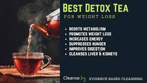 best tea deto for weight loss