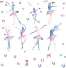 Amazon Com Ballet Wall Decals Ballerina Wall Decals Dancing Ballerinas Wall Decals Ballet Dancer Wall Decals Girl Wall Art Room Decor Girls Bedroom Decals Removable Peel And Stick Vinyl Wall Decals Arts Crafts