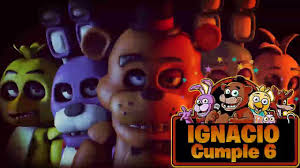 Five Nights At Freddy S Animatronico Video De Invitacion O