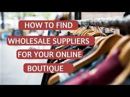 clothing suppliers for boutiques