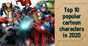 top 10 por cartoon characters in 2020