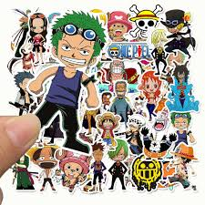 Mua 50 Sticker One Piece, hình dán Vua hải tặc mẫu mới, cao cấp ...