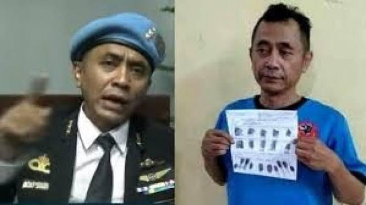"""Hasil gambar untuk Dulu Garang Sebut Bisa Menghentikan Bom Nuklir, Kini Raden Rangga Lesu Berbaju Tahanan"""""""