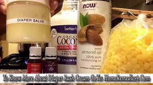 best homemade diaper rash cream