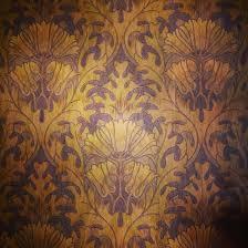 linoleum victorian era wallpaper