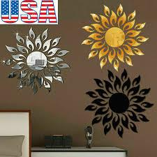 3d Lip Mirror Wall Sticker Room Art Diy Wall Decor Mirror Surface Wall Sticker