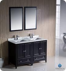 traditional double sink bathroom