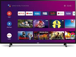 Philips 65 Class 4k Ultra Hd 2160p Android Smart Led Tv With Google Assistant 65pfl5604 F7 Walmart Com Walmart Com