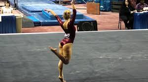 Brittany Johnson - Floor [NCAA Regional] 4/2/11 - YouTube