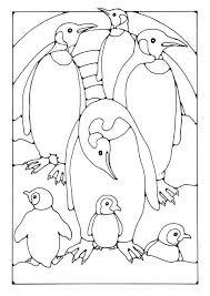 Kleurplaat Pinguins In 2020 Malvorlagen Malvorlagen Tiere Pinguine