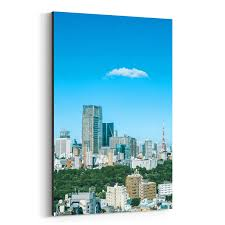 Shop Noir Gallery Tokyo Japan Skyline Cityscape Canvas Wall Art Print Free Shipping Today Overstock 27438784