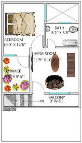 floor plan for 20 x 35 feet plot 2