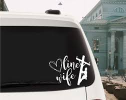 Linewife Decal Etsy