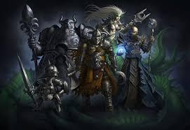 swords mage staff warriors heroes villains