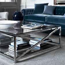 large square glass coffee table uk