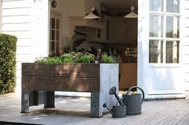 elevated planter boxes