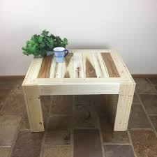 recycled timber coffee table light