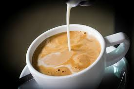 homemade flavored liquid coffee creamer