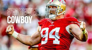 """San Francisco 49ers on Twitter: """"#49ers DT Justin Smith, a five-time Pro  Bowler, will retire from the NFL. #FarewellCowboy http://t.co/Y7D24Bao6d  http://t.co/vpiTo3skCz"""""""
