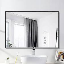 matte black bathroom mirror wayfair