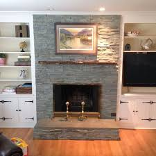 slab mantel fireplace live edge slab