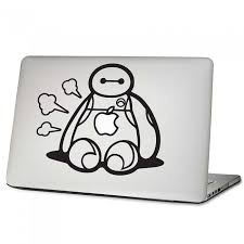 Baymax Big Hero Laptop Macbook Vinyl Decal Sticker