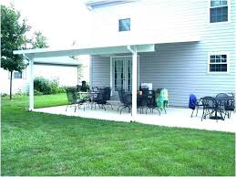 awning to house how wood patio roof