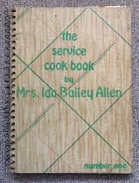 The Service Cookbook by Mrs. Ida Bailey Allen 1933 | Etsy