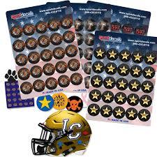 Helmet Decals Football Baseball Lacrosse Softball Hockey Sportdecals