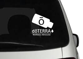 Doterra Oil Bottle Vehicle Vinyl Oilbusinesstools
