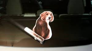 Beagle Wagging Wiper Car Decal Sticker Youtube