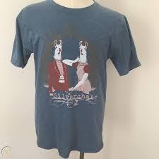 silverchair blue llama t shirt