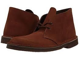 mahogany suede clarks desert boot