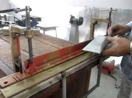 homemade bending tool sheet metal