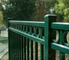 Residential Aluminum Fences Greatfences Com