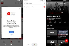 Google is rolling out 'voice remote' in YouTube TV
